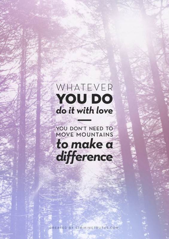Make A Difference Quote 9 Picture Quote #1