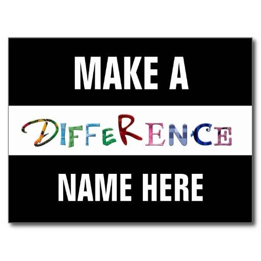 Make A Difference Inspirational Quote 2 Picture Quote #1