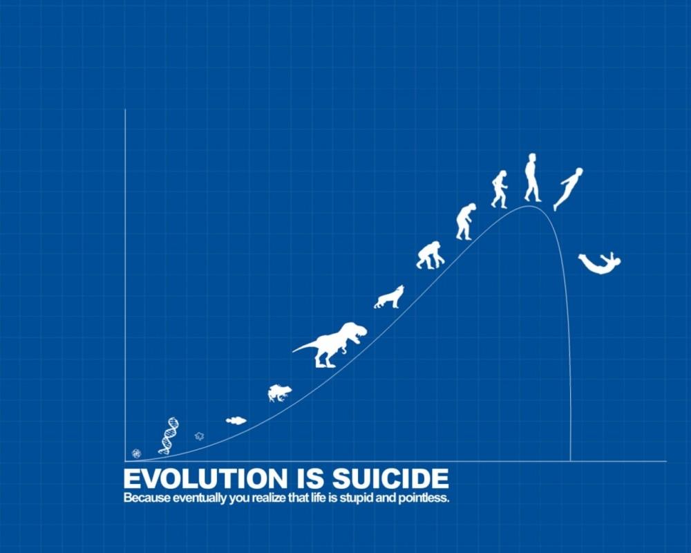 Funny Evolution Quote 4 Picture Quote #1