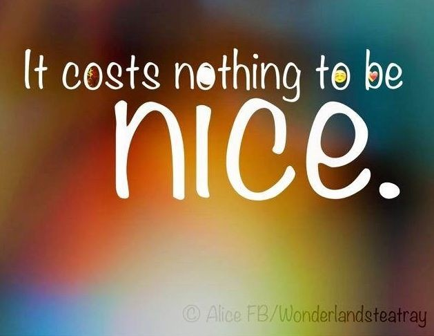 Just Be Nice Quote 2 Picture Quote #1