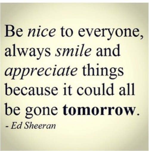Always Be Nice Quote 1 Picture Quote #1