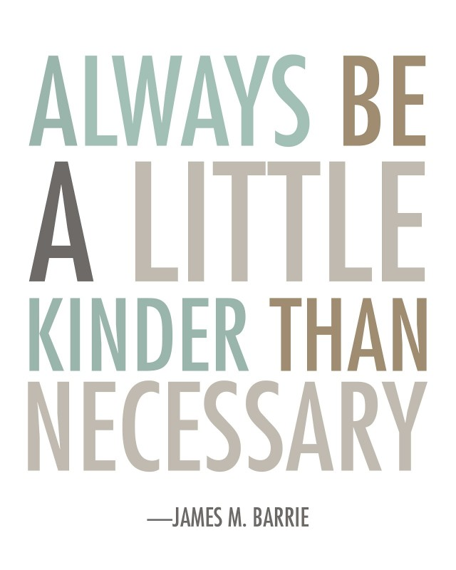 Always Be Nice Quote 2 Picture Quote #1