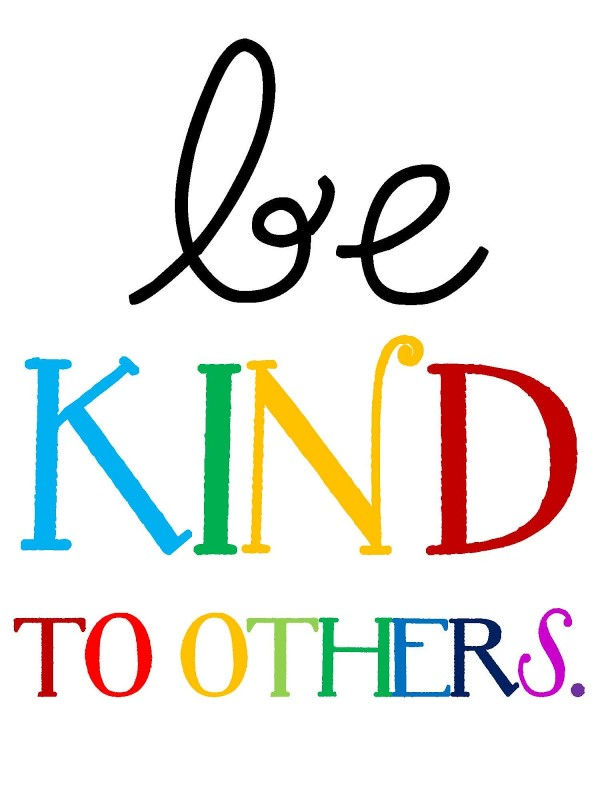 Be Nice To Each Other Quote 1 Picture Quote #1