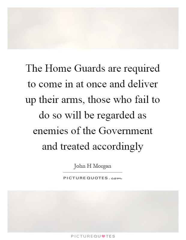 Home guard quotes