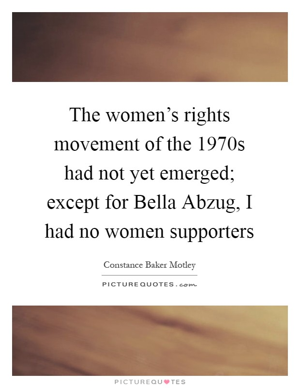 the womens rights movement of the The problem of women's place in the society has been studied for several centuries, and it is still relevant at the beginning of the 21st century the history of the xx century shows us an important example of women's rights movement, which managed to make great changes in the role and place of women in the life of the.