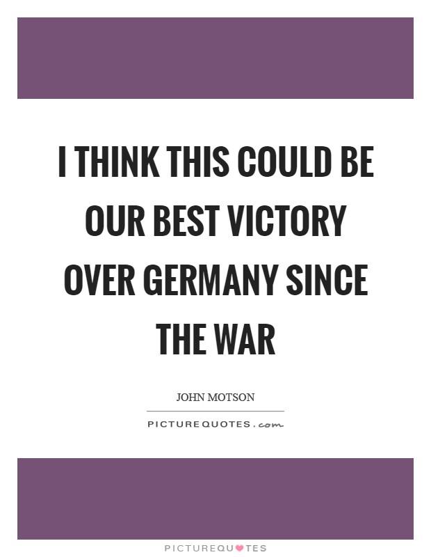 Deutschland Quote
