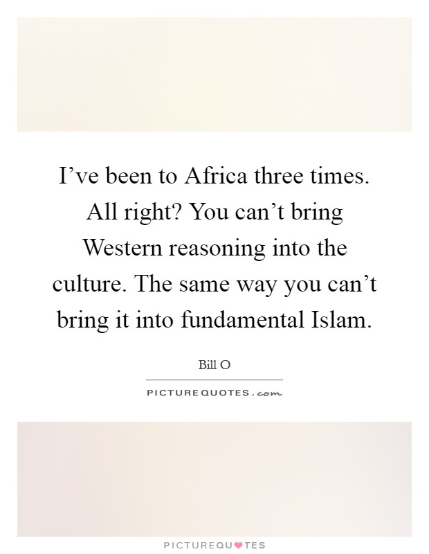 An examination of the culture of the fundamental muslim