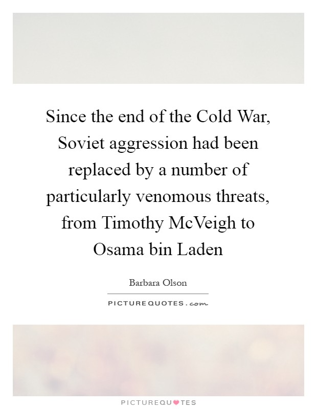 essays on soviet aggression the cold war Involvement with stalin before the cold war soviet and american spheres of influence aggression in eastern europe made this view hard to ignore.