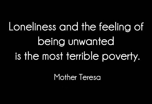 Being Unloved Quote 1 Picture Quote #1