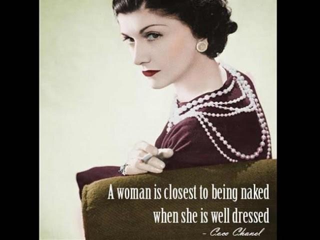 Famous Fashion Quote Coco Chanel 1 Picture Quote #1