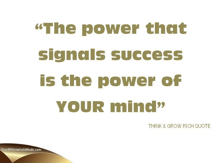 Think And Grow Rich Quotes Gorgeous Think And Grow Rich Quote  Quote Number 650442  Picture Quotes