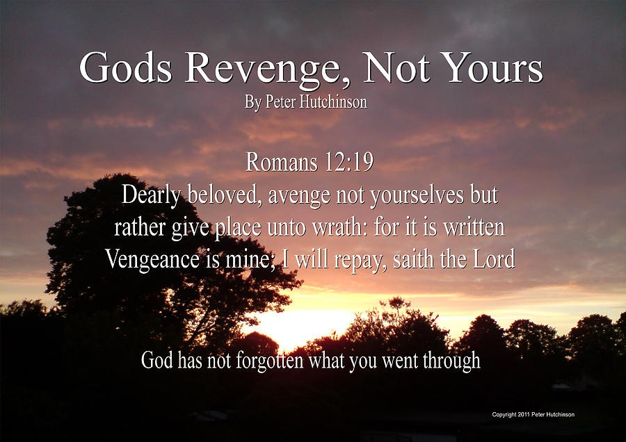 Gods Vengeance Quote 1 Picture Quote #1