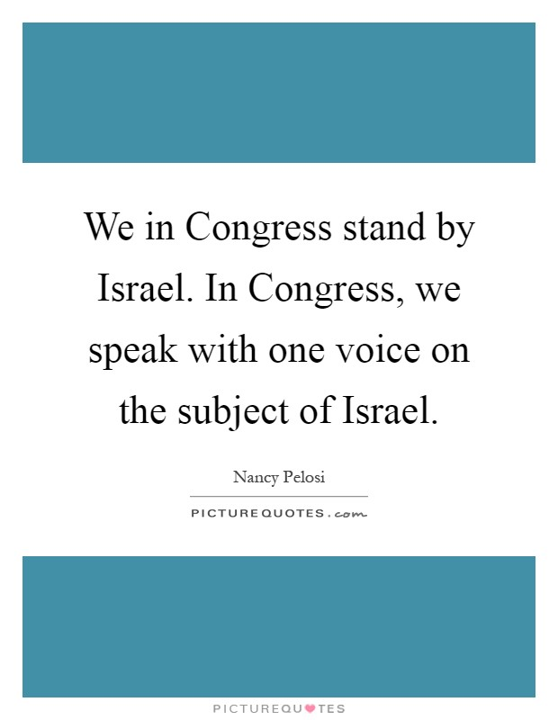 We Speak Fashionicano Best Fashion Magazines Covers: We In Congress Stand By Israel. In Congress, We Speak With