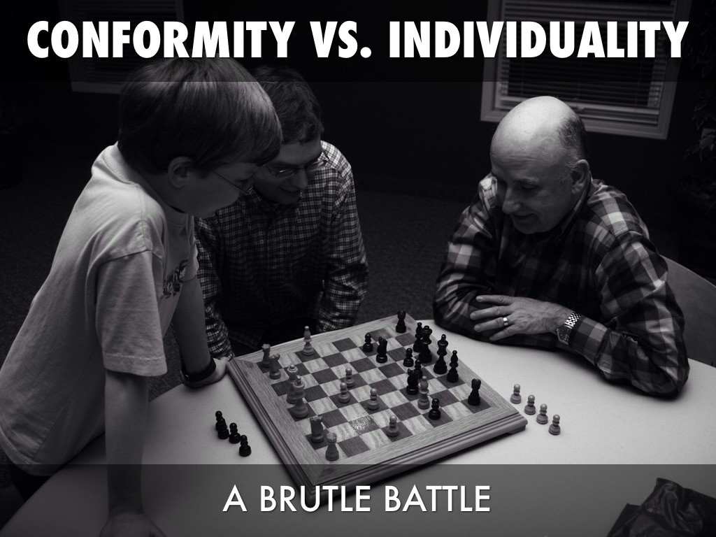 Quotes About Conformity Individuality Vs Conformity Quote  Quote Number 650908  Picture