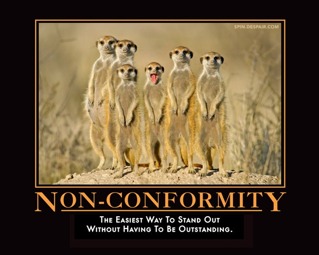 Individuality Vs Conformity Quote 2 Picture Quote #1