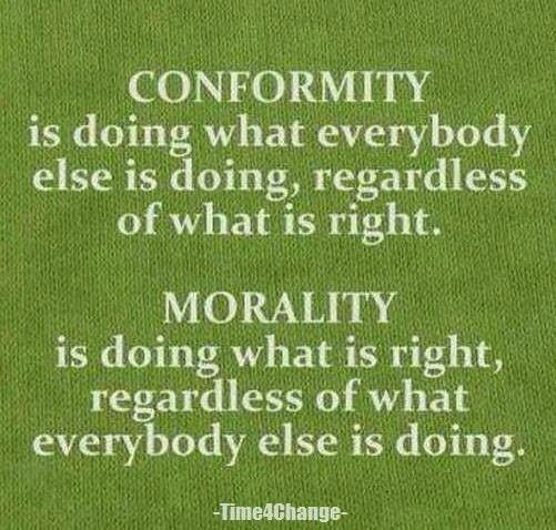 Social Conformity Quote 1 Picture Quote #1