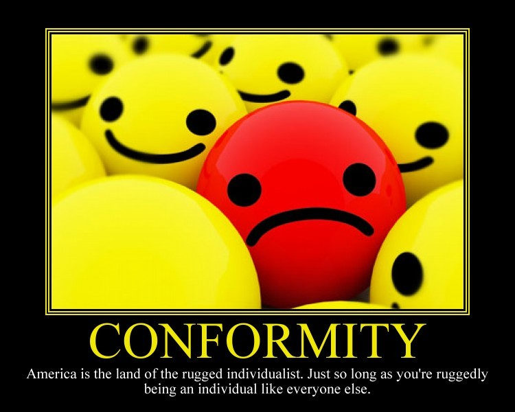 Social Conformity Quote 2 Picture Quote #1