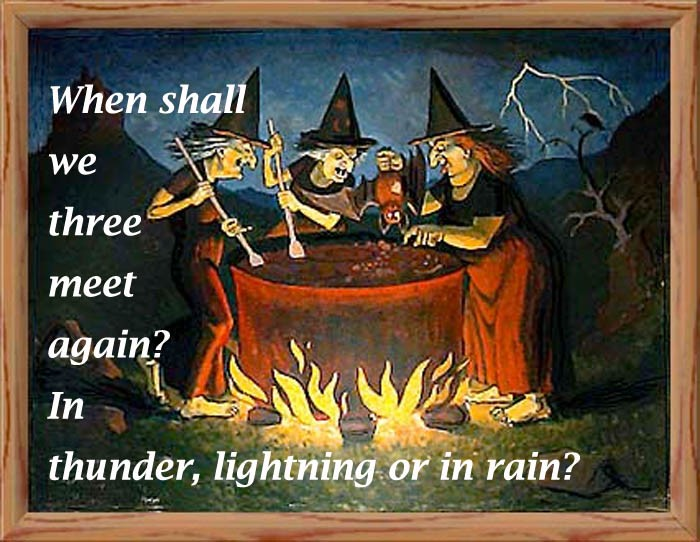 Shakespeare Macbeth Witch Quote 1 Picture Quote #1