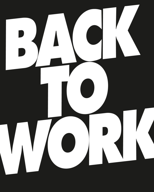 Back To Work Quote | Quote Number 650944 | Picture Quotes