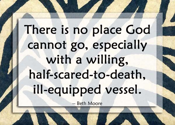 Beth Moore Quote 4 Picture Quote #1