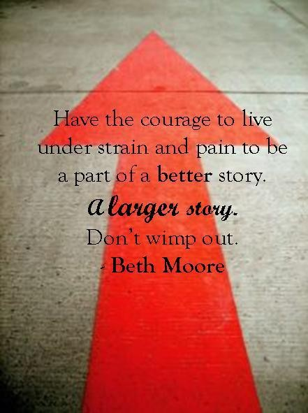 Beth Moore Quote 17 Picture Quote #1