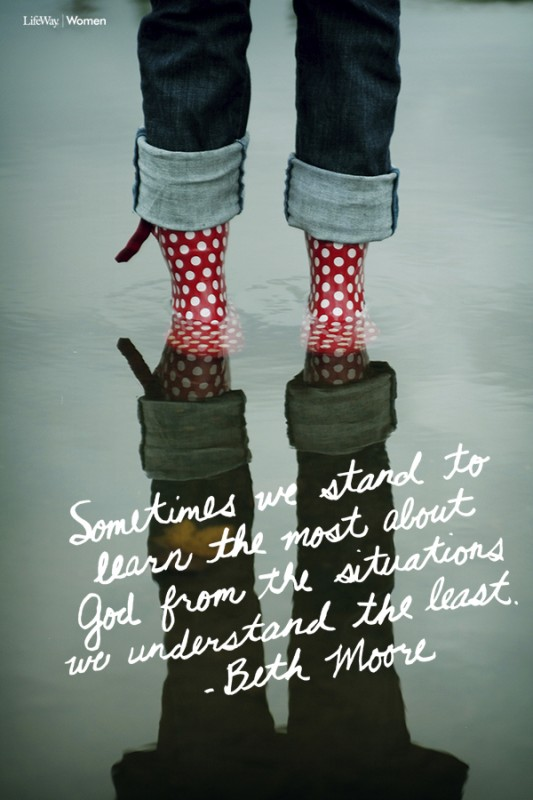 Beth Moore Quote 19 Picture Quote #1
