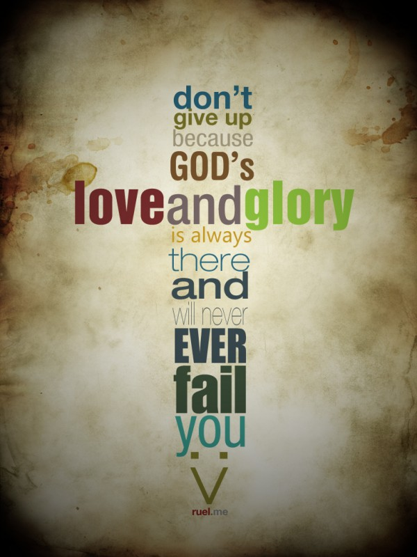 Gods Glory Quote 1 Picture Quote #1