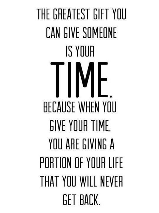 Make Time Quote 5 Picture Quote #1