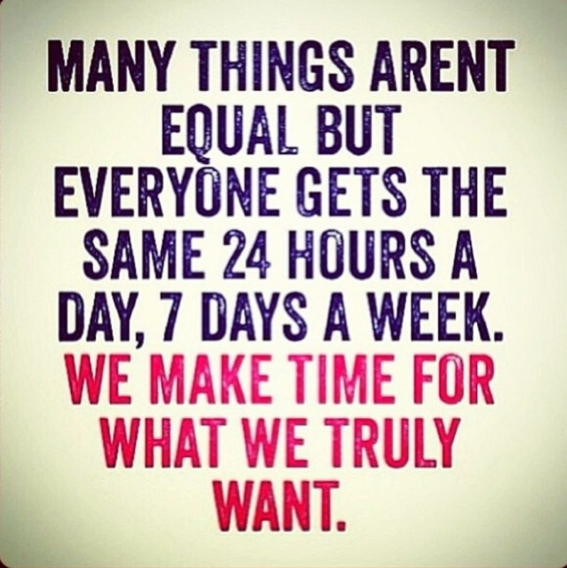 Make Time Quote 9 Picture Quote #1