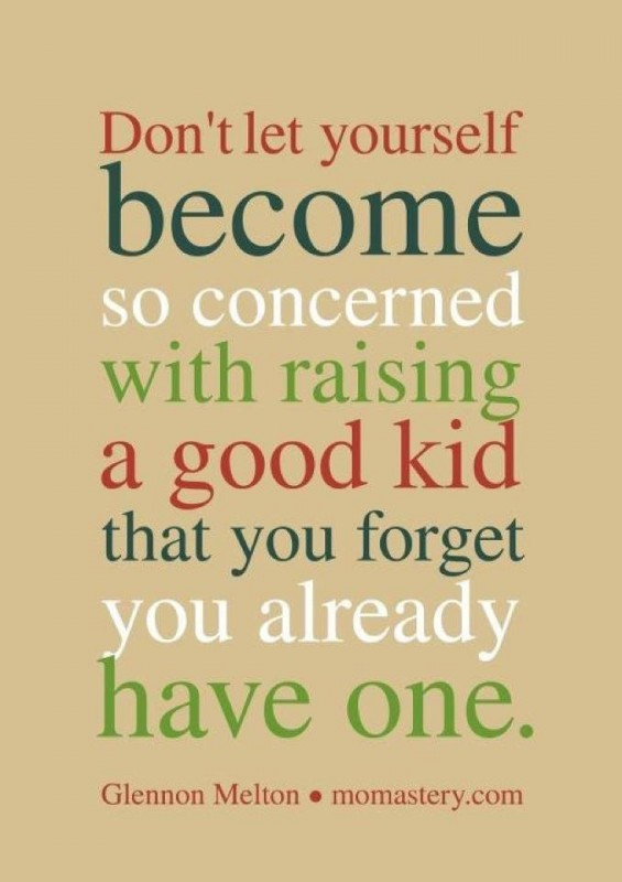 Inspirational Quote About Good Parenting 1 Picture Quote #1