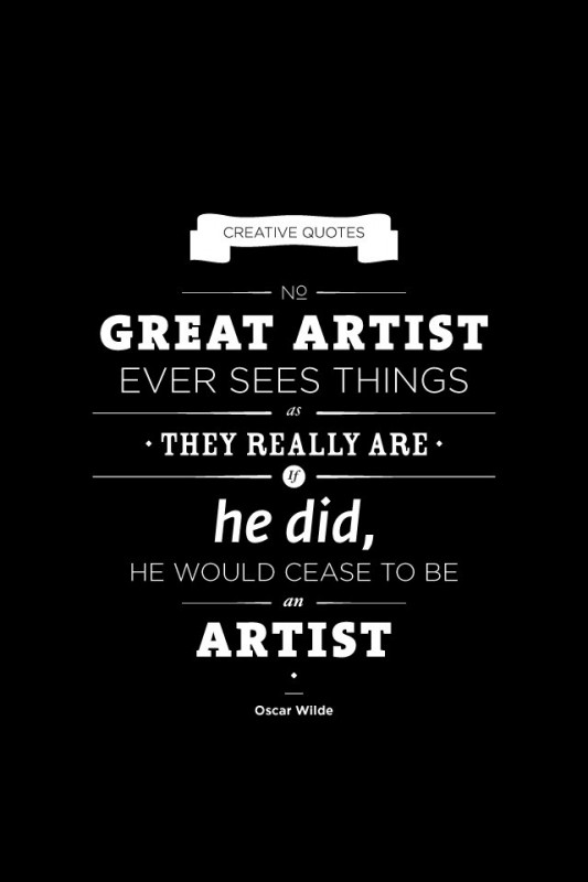 Great Artists Quote 1 Picture Quote #1