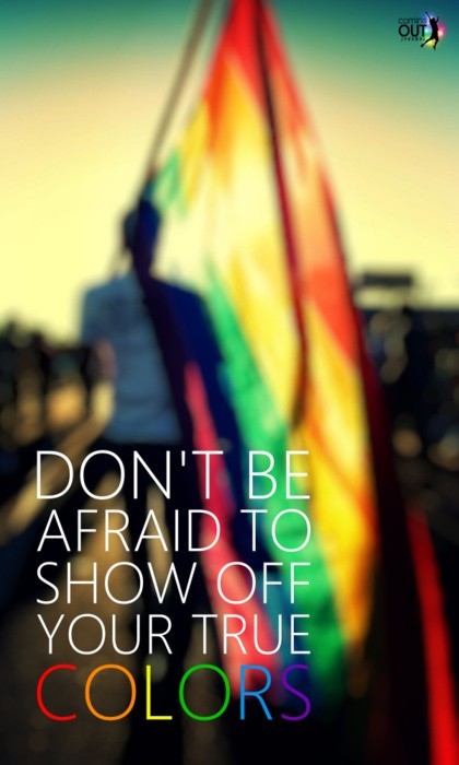 Gay Pride Quote 4 Picture Quote #1