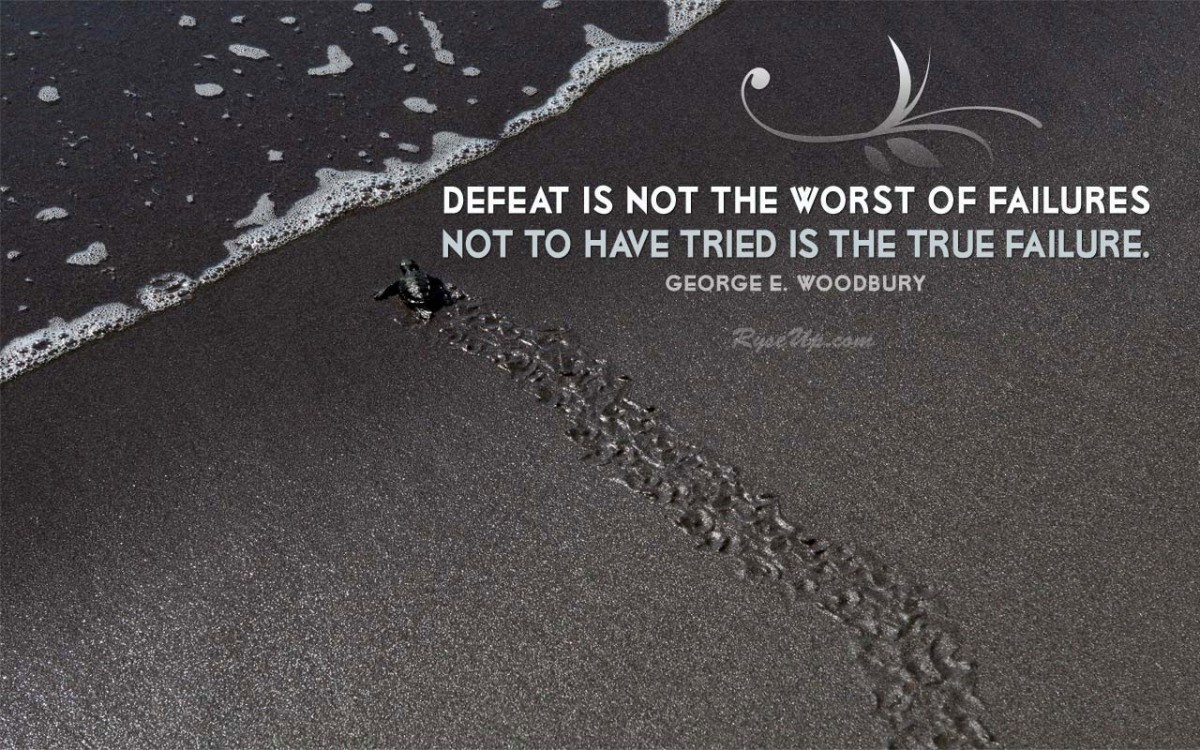 Defeat Quote Sayings 1 Picture Quote #1