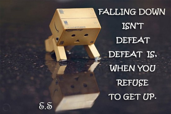Defeat Quote 3 Picture Quote #1