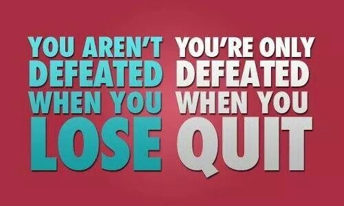 Defeat Quote 7 Picture Quote #1