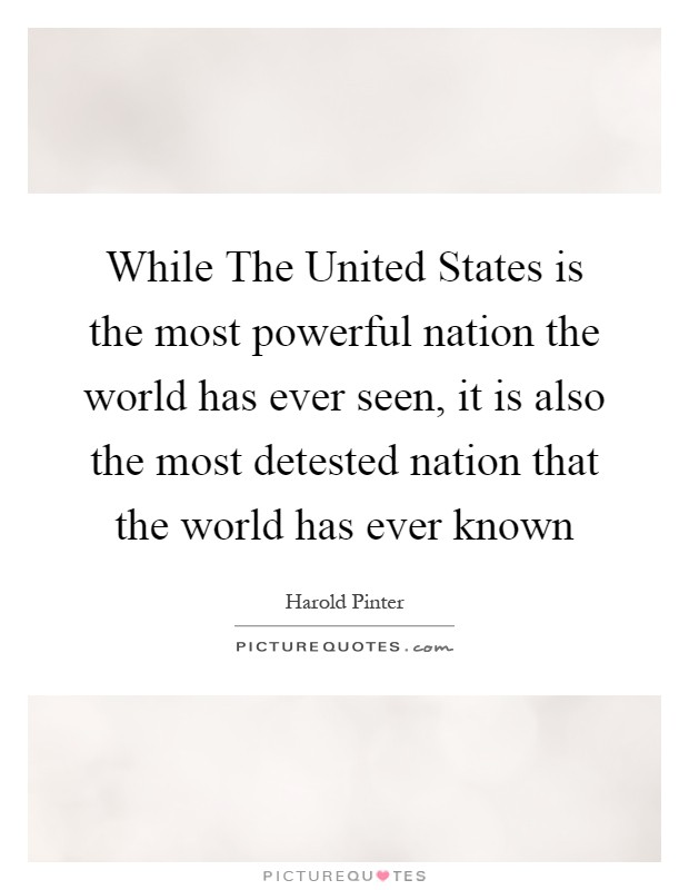 an analysis of the country as powerful as the united states These will be the 32 most powerful economies in the world by 2050  the independent online  united states — $34102 trillion 2.