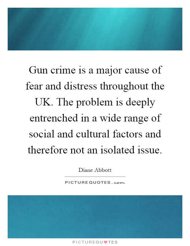 factors that influence fear of crime The fear of crime and communications page differential impact of crime fear) there are a number of identified influences on the perceptions of crime.