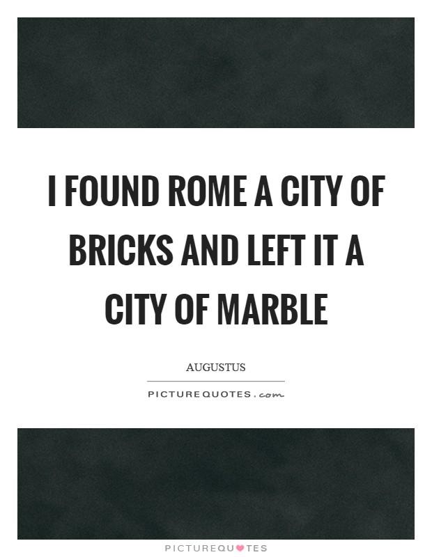 i found rome a city - photo#2