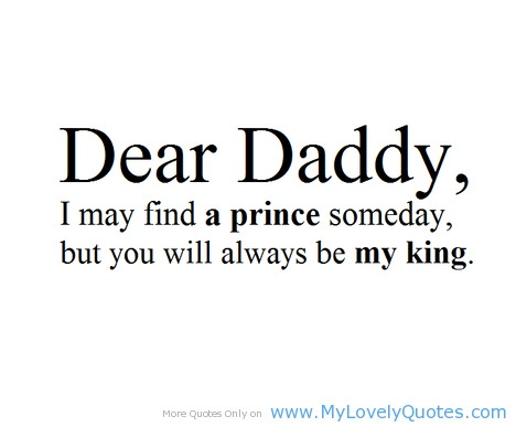 Daddy Quote From Daughter 4 Picture Quote #1
