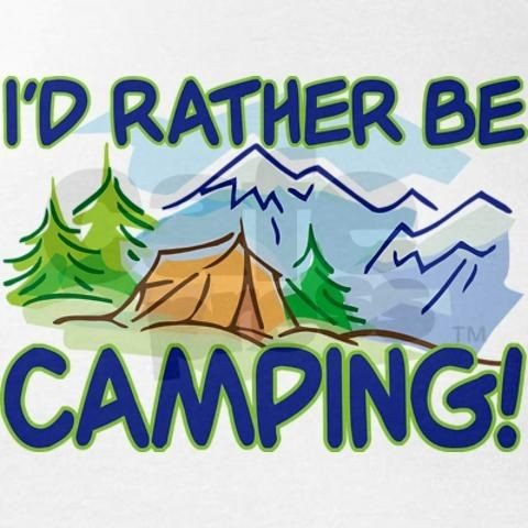 Rather Be Camping Quote 2 Picture Quote #1