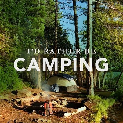 Rather Be Camping Quote 3 Picture Quote #1