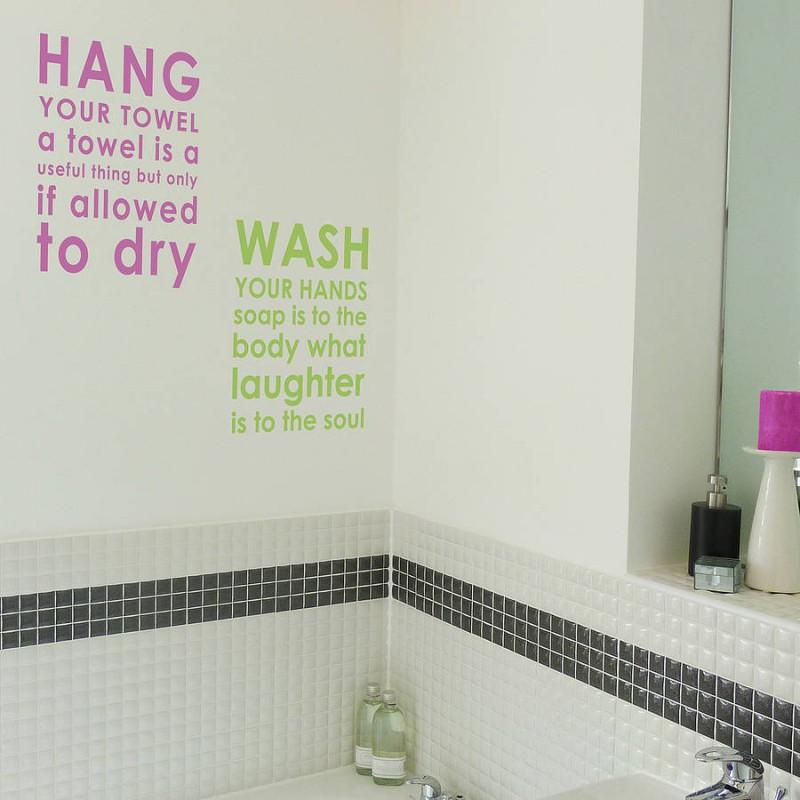 Bathroom Quote 2 Picture Quote #1