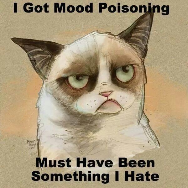 Grumpy Mood Quote 1 Picture Quote #1