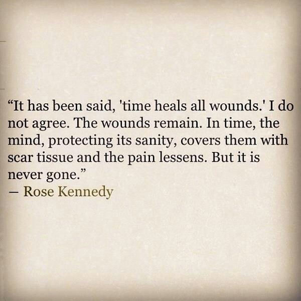 Time Heals Quote 1 Picture Quote #1