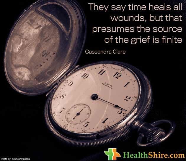 They Say Time Heals Quote 1 Picture Quote #1