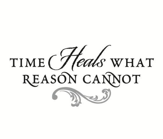 Time Heals Quote 4 Picture Quote #1
