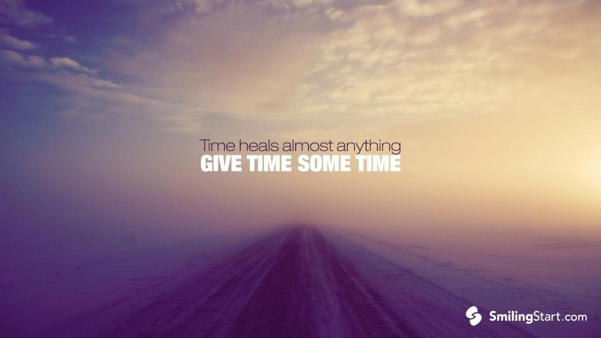 Time Heals Quote 14 Picture Quote #1