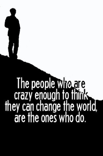 Change The World Quote 1 Picture Quote #1