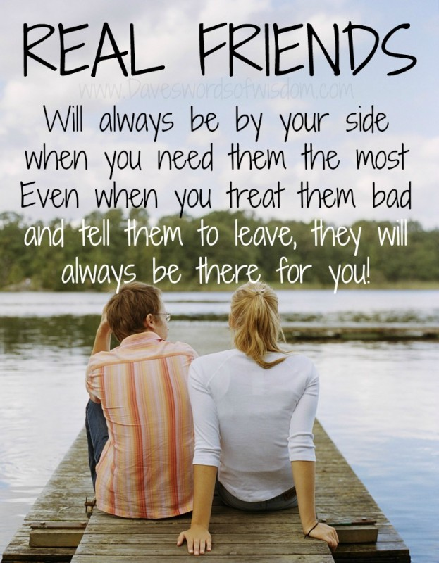 Friends Always Being There Quote 1 Picture Quote #1