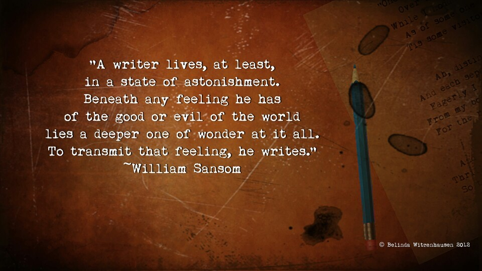 Writer Quote 6 Picture Quote #1